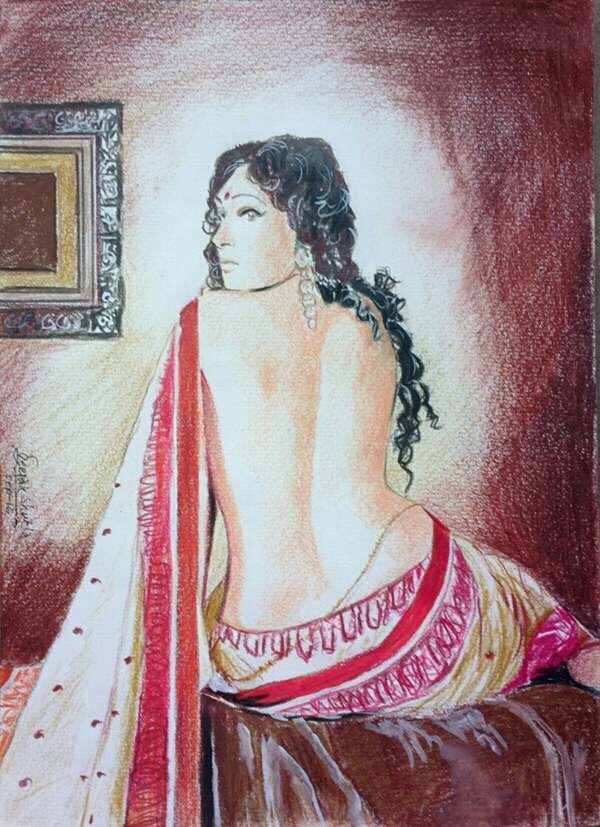 Rituparna Sengupta by CHHAYANKANArts